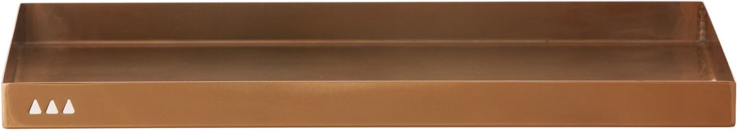 Decoration - Office - Copper Tray by Ferm Living - Copper - Stainless steel