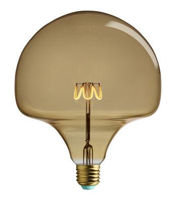 Ampoule LED filaments E27 Wilma / 4,5W (28W) - 300 lumen - Plumen doré en verre
