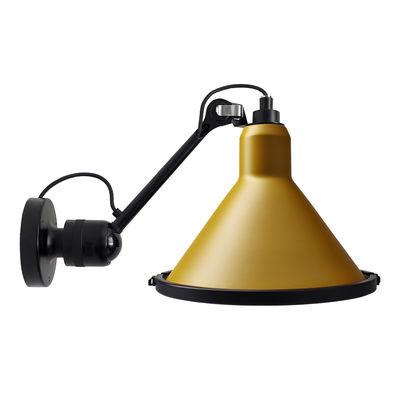 Applique d'extérieur 304 XL Outdoor Seaside / Orientable - Ø 32 cm / Cône - DCW éditions jaune,noir en métal