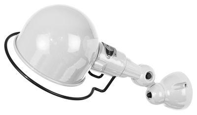 Illuminazione - Lampade da parete - Applique Signal - Ø 10 cm di Jieldé - Bianco brillante - Acciaio inossidabile