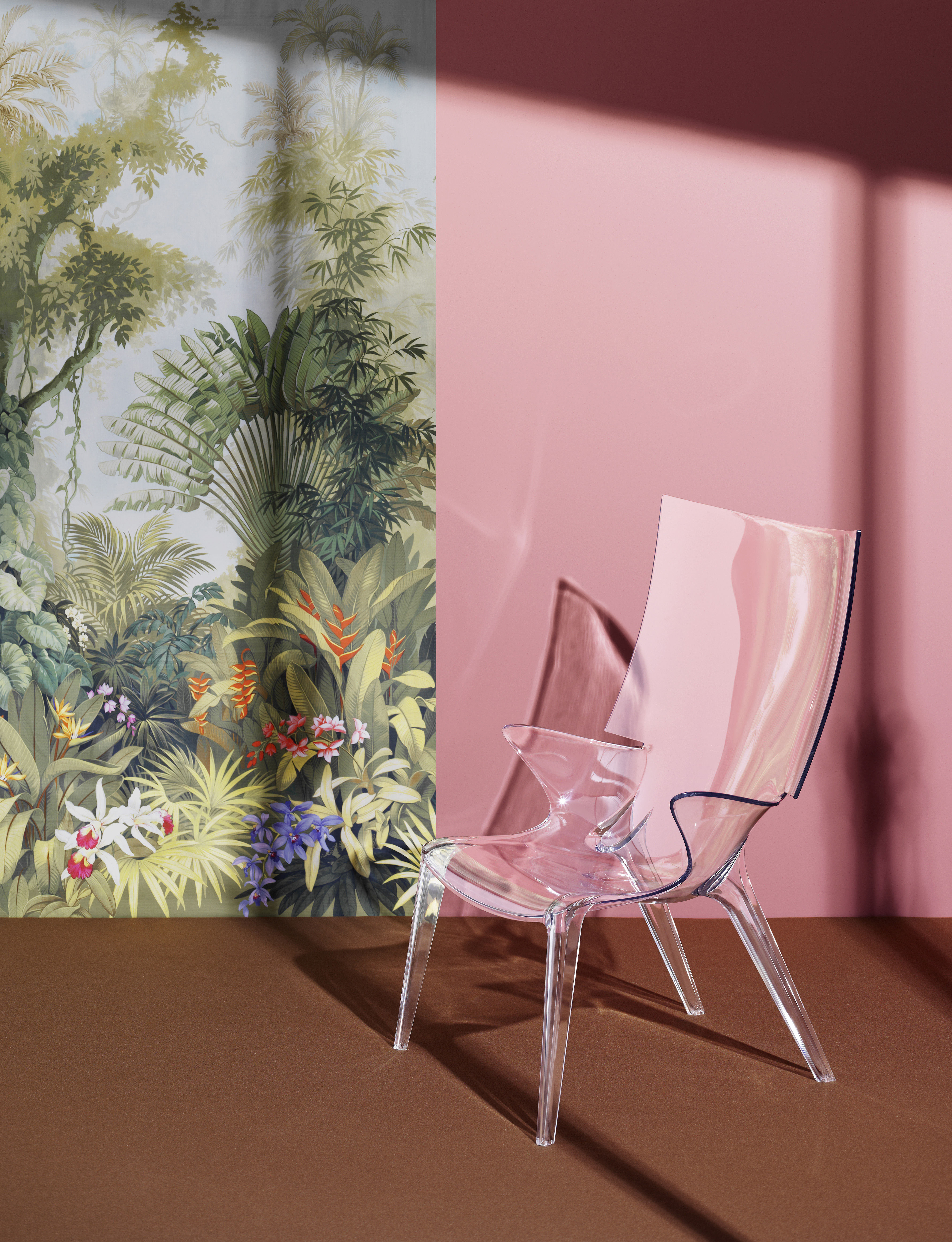 Armchair Uncle Jim By Kartell Transparent Made In