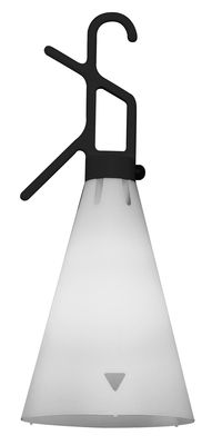 Luminaire - Lampes de table - Baladeuse Mayday / H 53 cm - Poignée polypropylène - Flos - Noir - Polypropylène