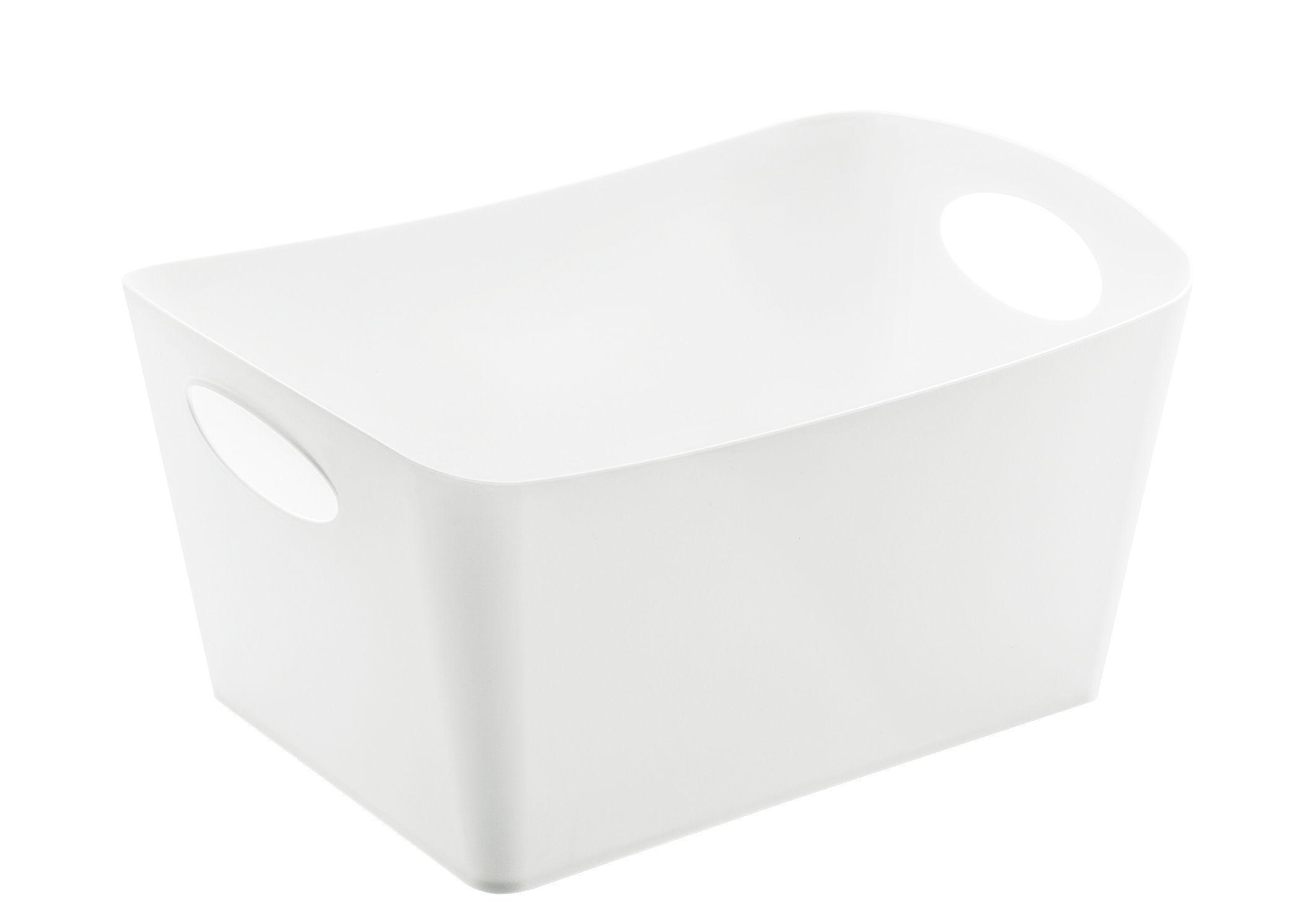Decoration - Boxes & Baskets - Boxxx M Basket - 3,5 L by Koziol - Solid white - Plastic material