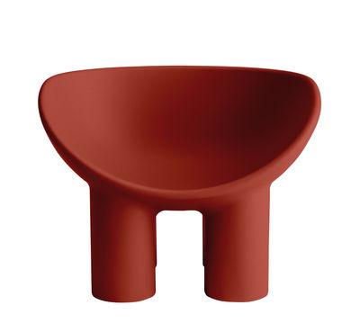Chaise Roly Poly - Driade rouge en matière plastique