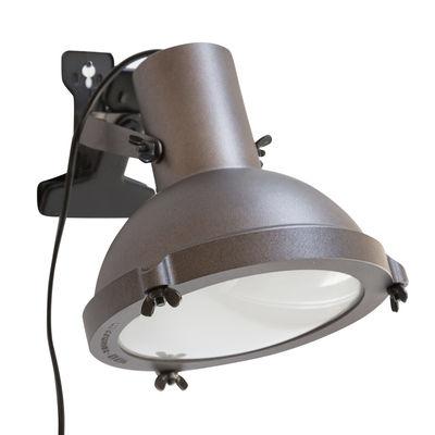 Image of Lampada a pinza Projecteur 165 - by Le Corbusier / Riedizione 1954 di Nemo - Marrone - Metallo