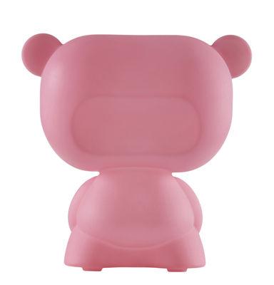 Lampe de table Pure / H 45 cm - Slide rose en matière plastique