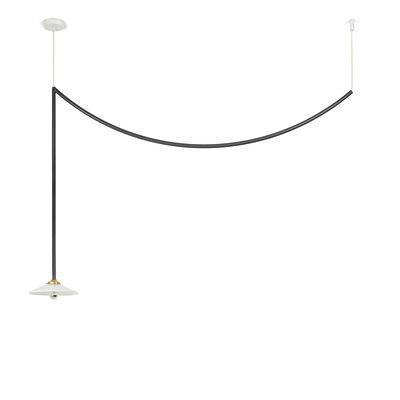 Lighting - Pendant Lighting - Celing Lamp n°4 Pendant - / H 95 x L 149.5 cm by valerie objects - Black - Glass, Steel