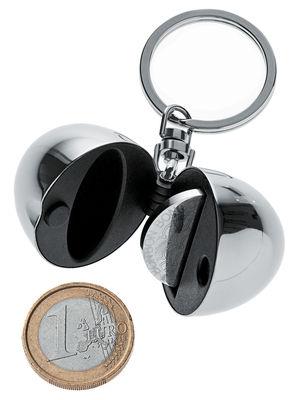Accessori - Gioielli - Portachiavi Bon Bon - Porta-monete di Alessi - Acciaio lucido - Acciaio inossidabile, Resina termoplastica
