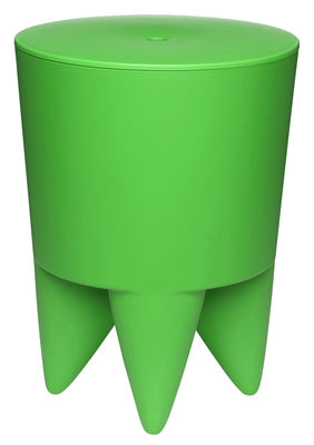 Furniture - Stools - New Bubu 1er Stool by XO - Spring green - Polypropylene