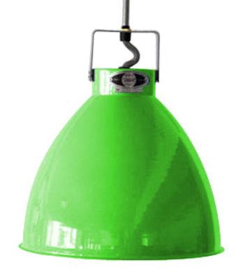 Suspension Augustin XL Ø 54 cm - Jieldé vert pomme brillant en métal