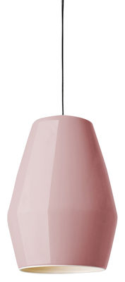 Suspension Bell en porcelaine - Northern vieux rose en céramique