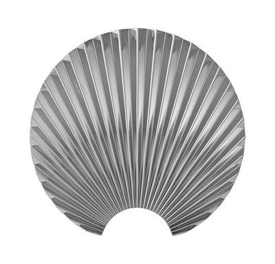 Arredamento - Appendiabiti  - Appendiabiti Concha - / Metallo - H 15,5 cm di AYTM - Argent - Zamak placcato cromo