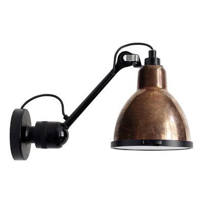 Applique d'extérieur 304 XL Outdoor Seaside / Orientable - Ø 22 cm / Rond - DCW éditions noir,cuivre brut en métal