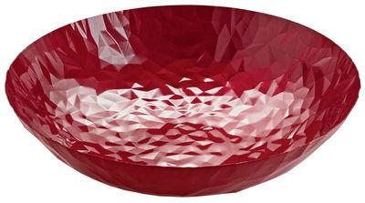 Centre de table Joy N.11 / Ø 37 cm - Alessi rouge en métal