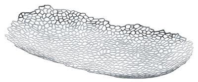 Centre de table Opus / 60 x 34 cm - Alessi acier poli en métal