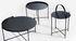 Edge Coffee table - / Folding handle - Ø 76 x H 40 cm by Houe