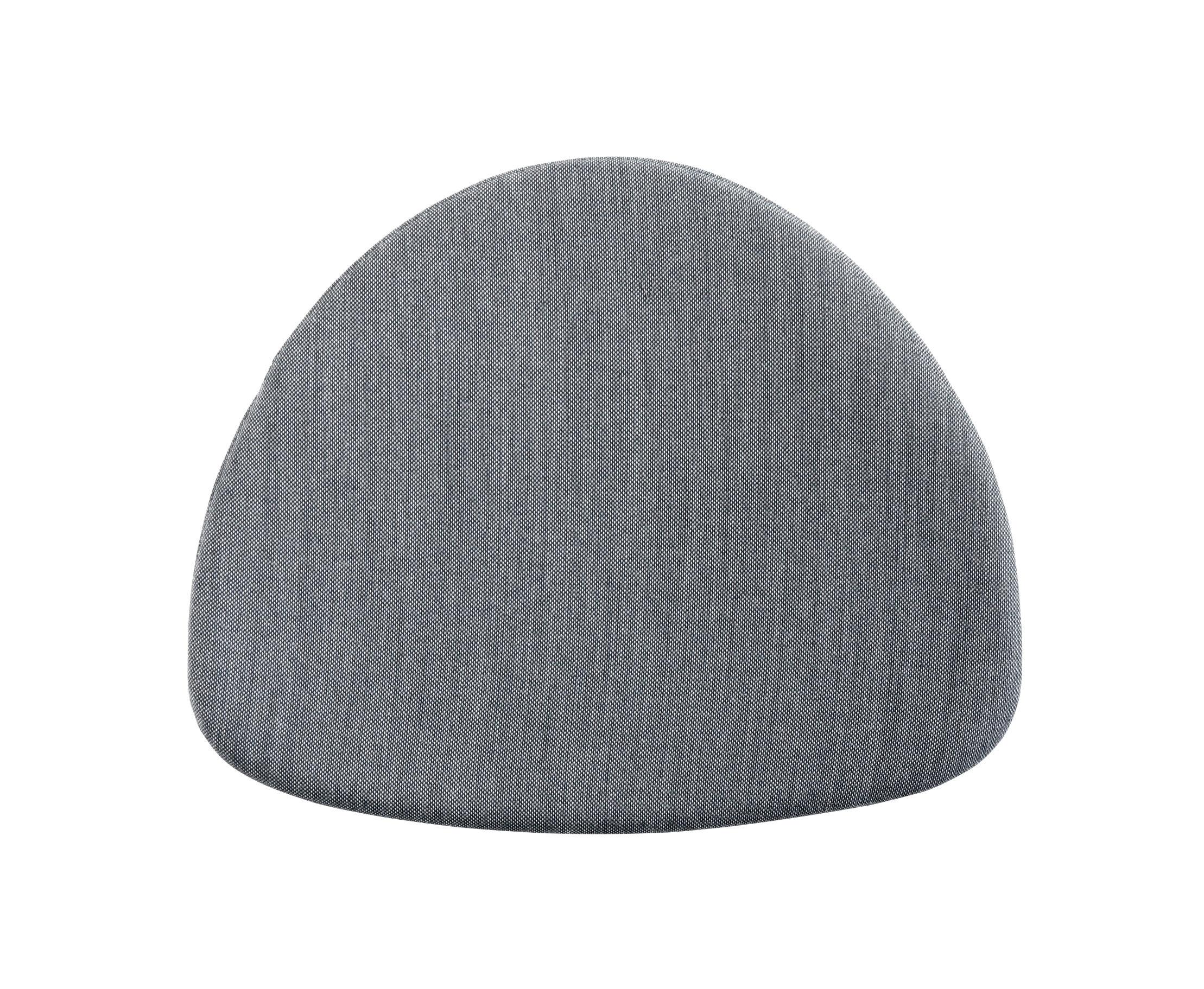 Déco - Coussins - Coussin d'assise / Pour chaise J104 - Hay - Gris foncé - Tissu Surface