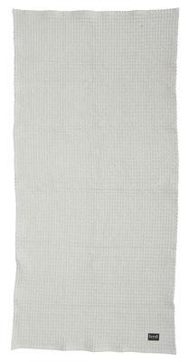 Drap de bain / 140 x 70 cm - Ferm Living gris clair en tissu