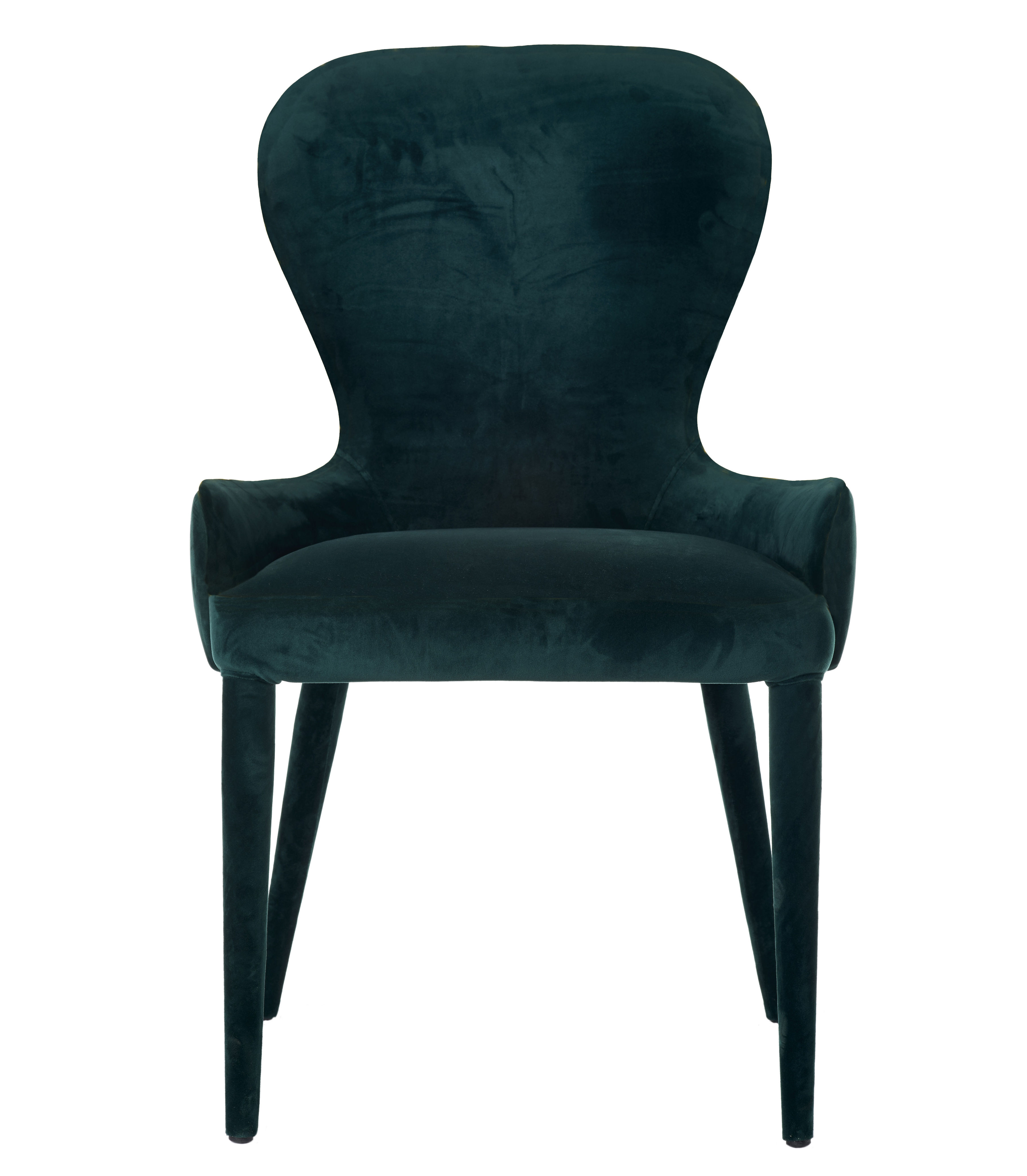 fauteuil rembourr aunty velours vert sapin pols potten made in design. Black Bedroom Furniture Sets. Home Design Ideas