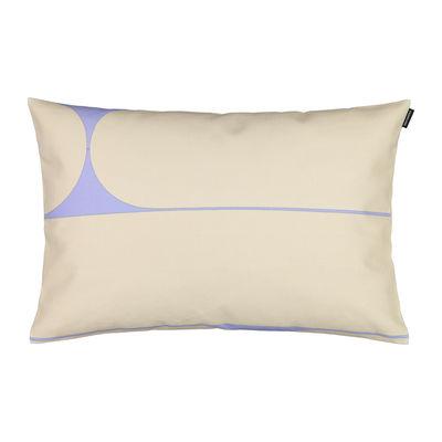 Interni - Cuscini  - Foodera cuscino Putki - / 40 x 60 cm di Marimekko - Putki / Beige, blu - Cotone