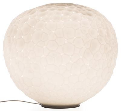 Luminaire - Lampes de table - Lampe de table Meteorite / Ø 48 cm - Artemide - Ø 48 cm / Blanc - Verre soufflé
