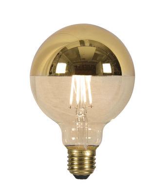 Leuchten - Glühbirnen - LED-Glühbirne E27 mit Glühfaden / 4 W - kopfverspiegelt (goldfarben) - It's about Romi - Goldfarben - Glas, Metall