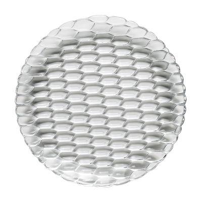 Tavola - Piatti  - Piatto Jellies Family - / Ø 27 cm di Kartell - Cristallo - Tecnopolimero termoplastico