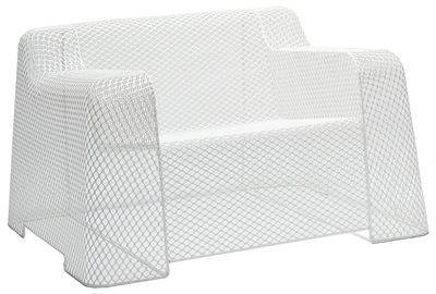 Arredamento - Poltrone design  - Poltrona Ivy di Emu - Bianco - Acciaio