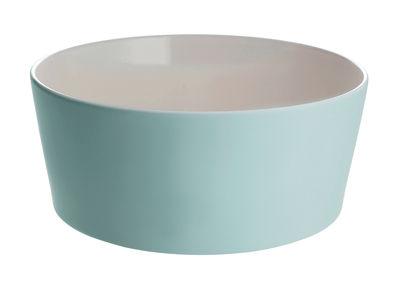 Saladier Tonale / Ø 23 cm - Alessi blanc,vert en céramique
