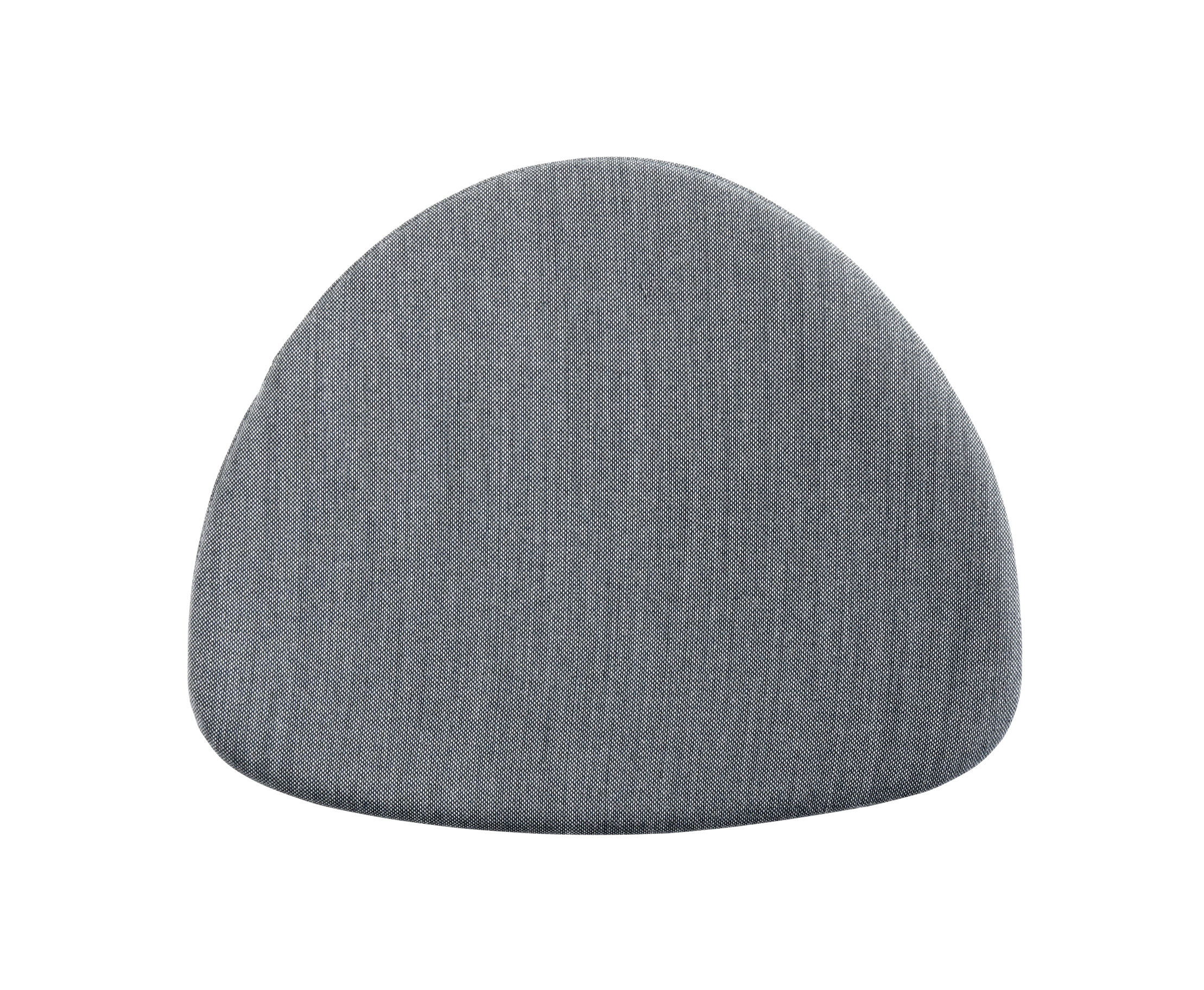 Decoration - Cushions & Poufs - Seat cushion - / For J104 chair by Hay - Dark grey - Tissu Surface