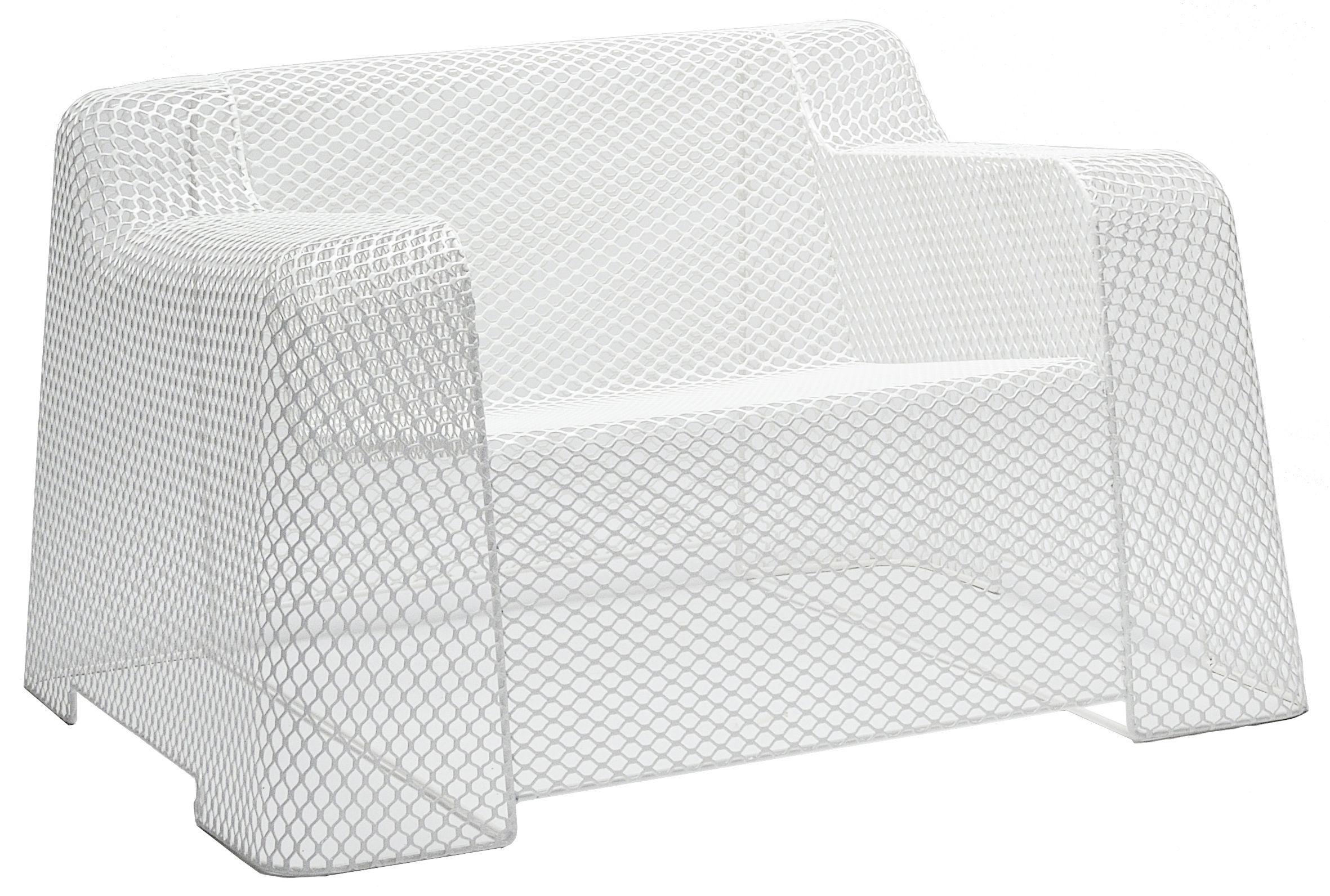 Möbel - Lounge Sessel - Ivy Sessel - Emu - Weiß - Stahl