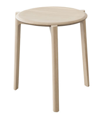 Furniture - Stools - Svelto Stackable stool - Wood / H 45 cm by Ercol - Oak - Solid oak