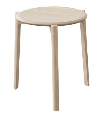 Möbel - Hocker - Svelto Stappelbarer Hocker / Eiche - H 45 cm - Ercol - Eiche natur - massive Eiche