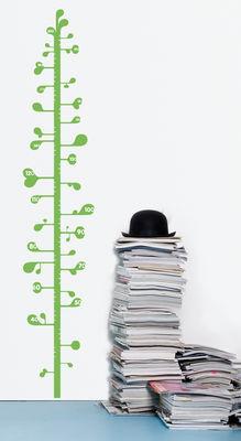 Déco - Pour les enfants - Sticker Measuring Plant / Toise - Domestic - Vert - Vinyle