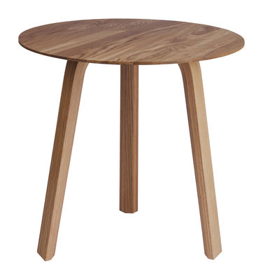 Table basse Bella / Ø 45 x H 39 cm - Hay bois naturel en bois