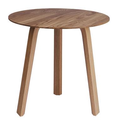 Table basse Bella / Ø 45 x H 39 cm - Hay bois naturel en bois