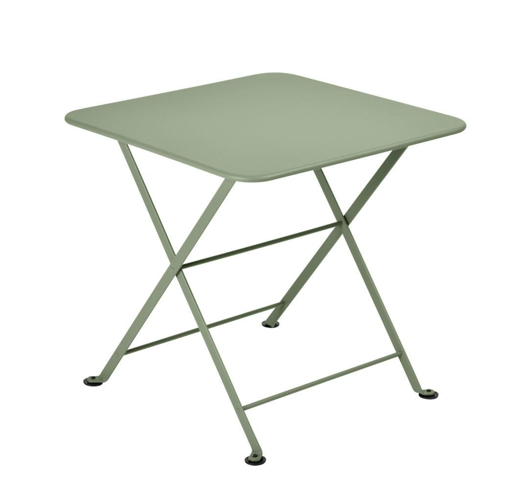 Mobilier - Tables basses - Table basse Tom Pouce / 50 x 50 cm - Fermob - Cactus - Acier peint