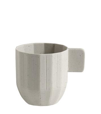 Arts de la table - Tasses et mugs - Tasse à espresso Paper Porcelain / En porcelaine - Hay - Tasse / Gris clair - Particules de métal, Porcelaine