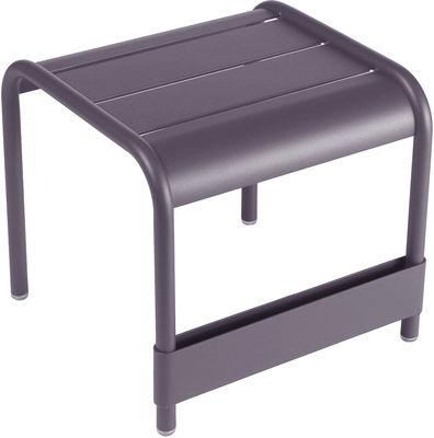 Life Style - Tavolino d'appoggio Luxembourg - L 42 cm di Fermob - Prugna - Alluminio laccato