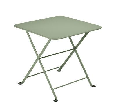 Arredamento - Tavolini  - Tavolino Tom Pouce - / 50 x 50 cm di Fermob - Cactus - Acciaio verniciato