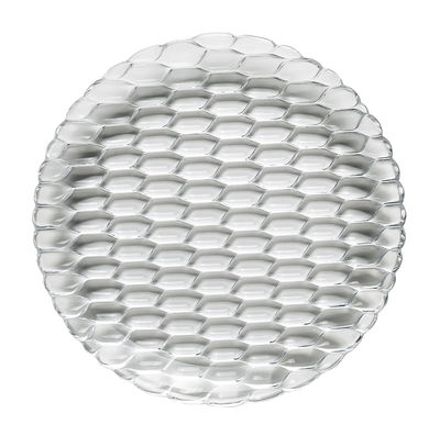 Tischkultur - Teller - Jellies Family Teller / Ø 27 cm - Kartell - Transparent (farblos) - Thermoplastisches Polykarbonat