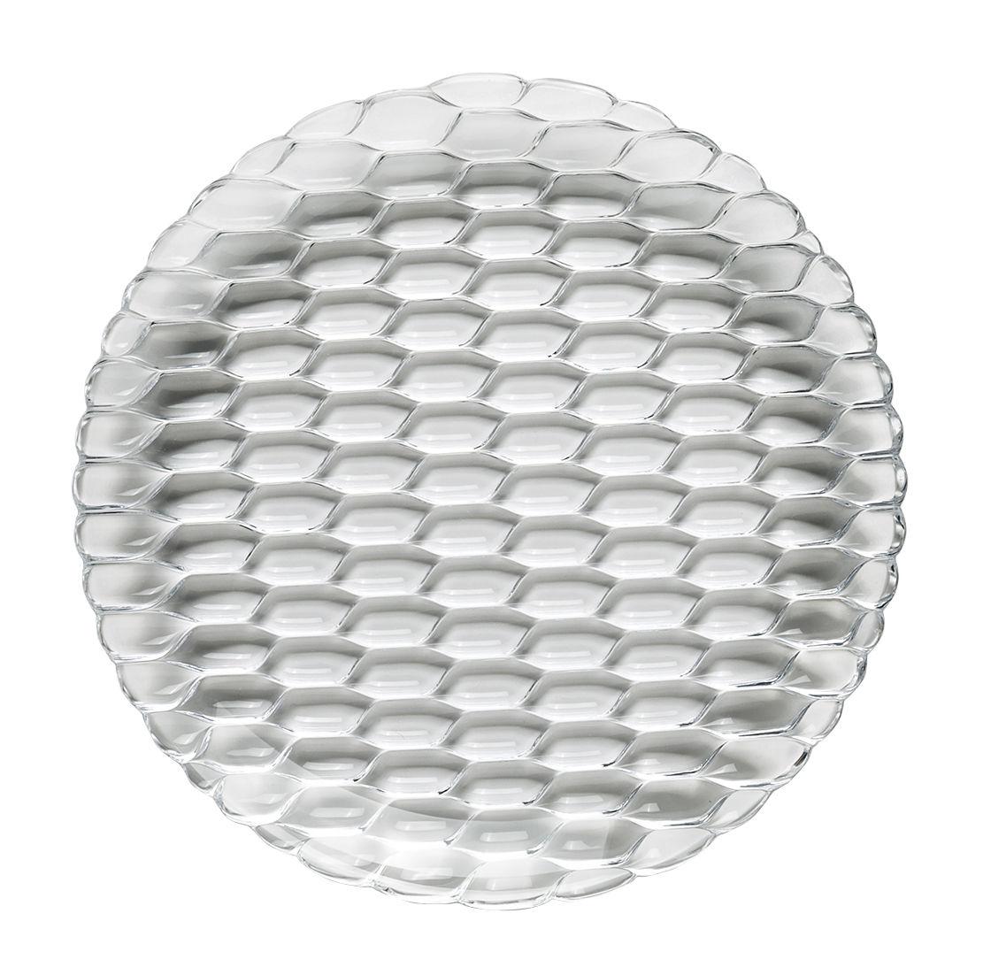 Tischkultur - Teller - Jellies Family Teller / Ø 27 cm - Kartell - Transparent (farblos) - Technopolymère thermoplastique