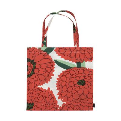 Accessoires - Sacs, trousses, porte-monnaie... - Tote bag Primavera / Coton - Marimekko - Primavera / Orange & vert - Coton