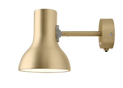 Type 75 Mini Wandleuchte / Metallic - Anglepoise - Gold