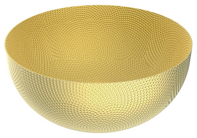 Tableware - Fruit Bowls & Centrepieces - Uta Basket - / Brass - Ø 29 cm by Alessi - Brass - Brass