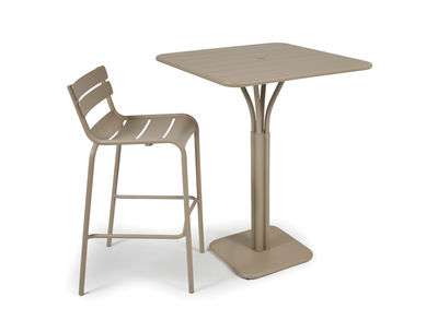 80 H de Luxembourg cm bar Chaise Fermob Aluminium strCQdh