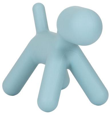 Mobilier - Mobilier Kids - Décoration Puppy XL / L 102 cm - Magis Collection Me Too - Turquoise mat - Polyéthylène rotomoulé