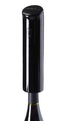 Küche - Elektrogeräte - Electric Barman Elektrischer Flaschenöffner elektrisch - L'Atelier du Vin - Schwarz - polymerbeschichtete Holzfaserplatte, Stahl