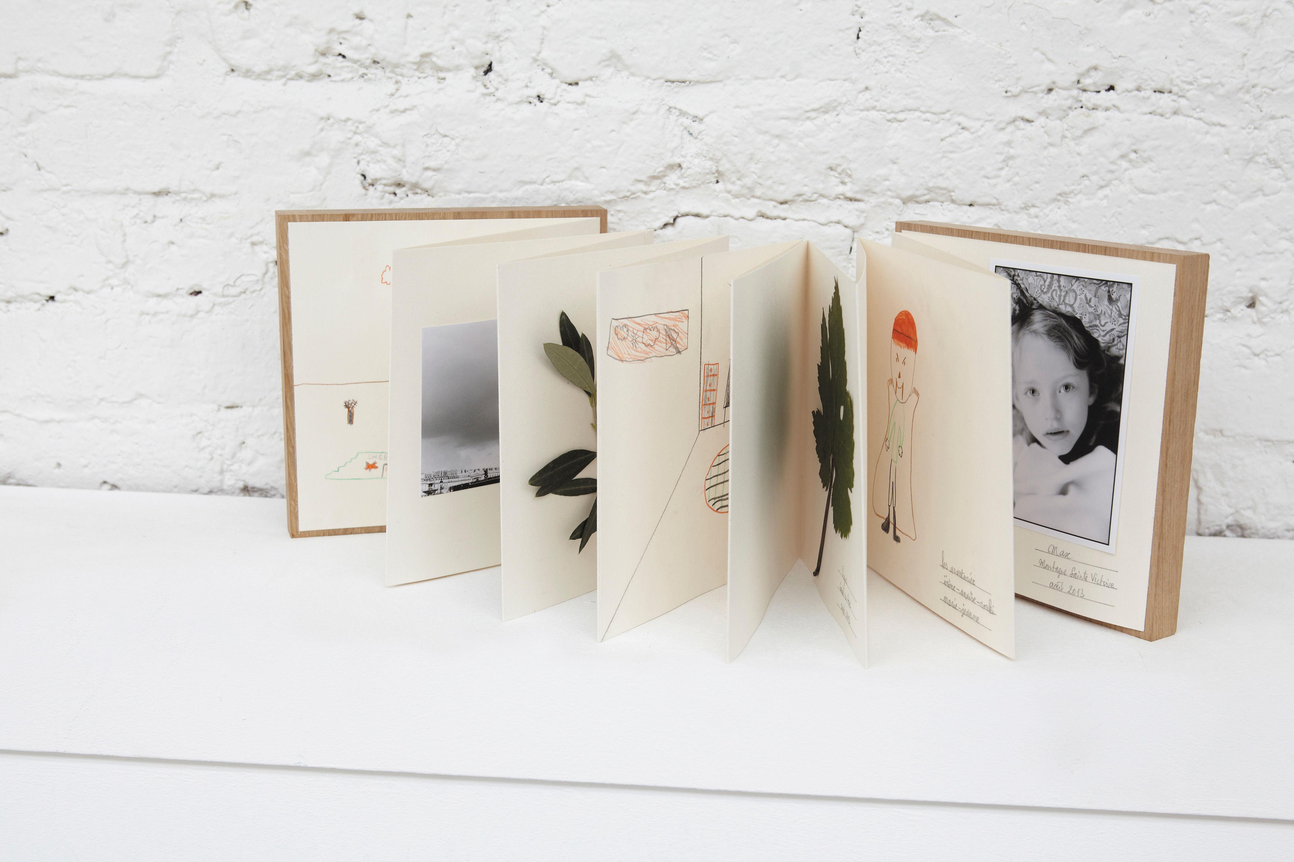 Design Fotoalbum | Portfolio Fotoalbum Schreibheft Herbarium Eiche Weiss By L