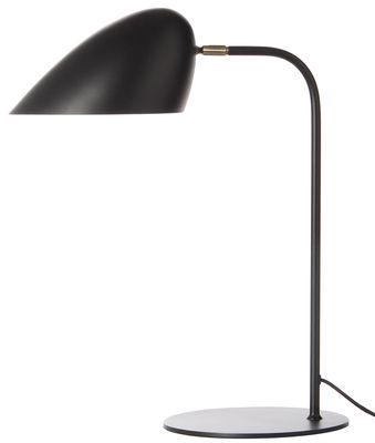 Illuminazione - Lampade da tavolo - Lampada da tavolo Hitchcock - / H 50 cm di Frandsen - Nero - metallo verniciato, Ottone